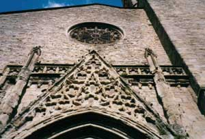 façade de Saint Vincent