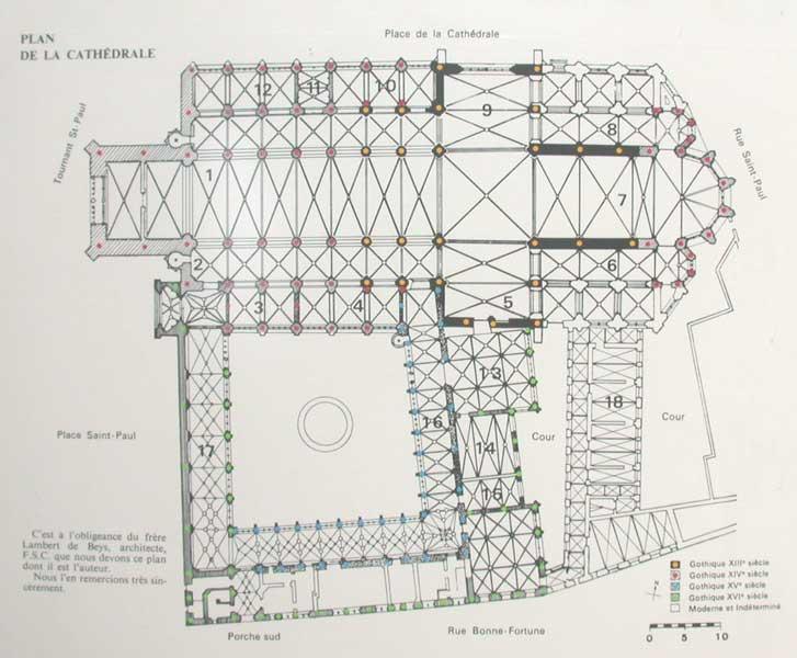Cath drale saint paul de li ge d finition de cath drale for Synonyme architecture